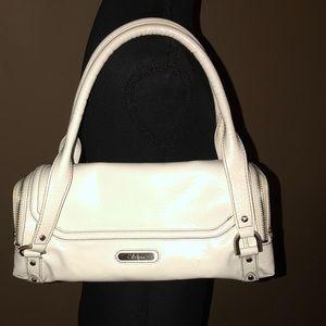 Cole Haan White Purse Shoulder Bag